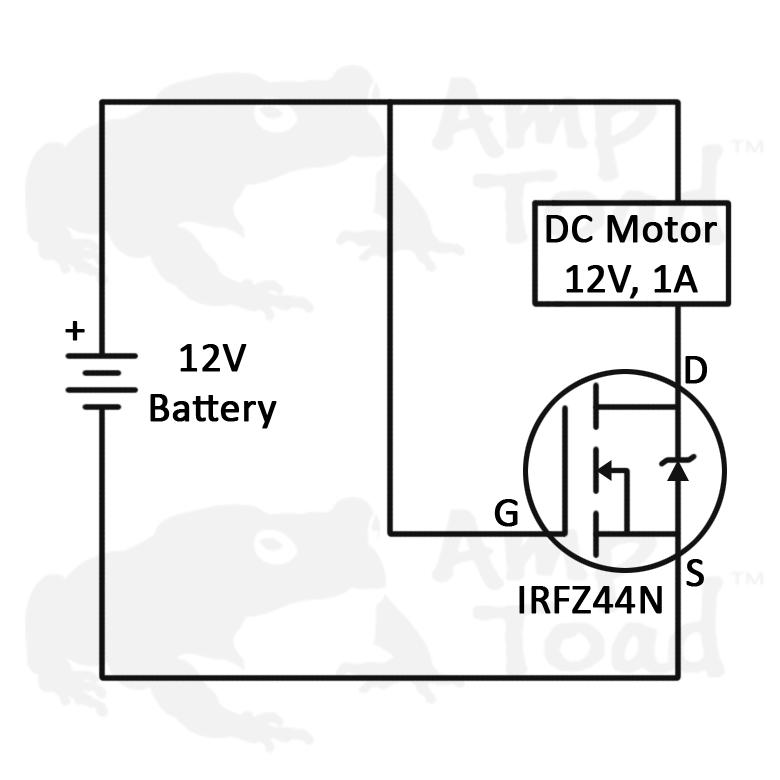 Details about MOSFET - IRFZ44N 55V - International Rectifier Transistor for  Arduino Pi TTL