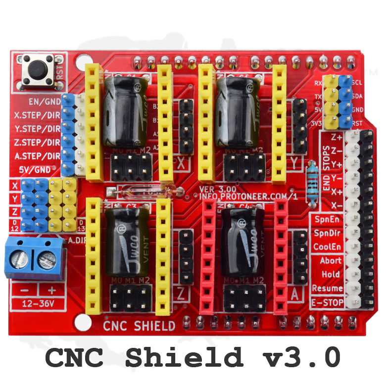 Arduino cnc kit with uno r a drivers grbl