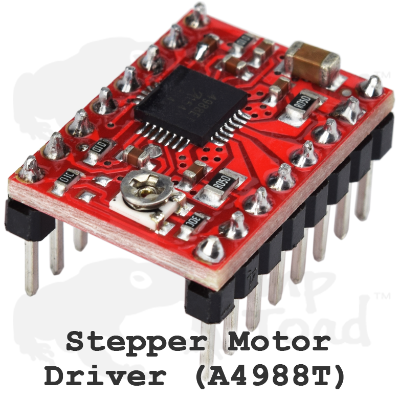 Details about 15 x Stepper Motor Driver AT4988T - Compatible w/ Arduino TTL  Raspberry Pi CNC